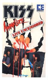 Cover KISS - Animalize Live Uncensored [DVD]